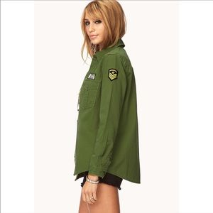 URBAN OUTFITTERS ARMY SHIRT